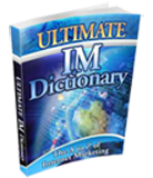 Dictionary for Internet Marketing