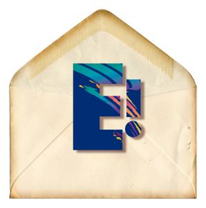 E mail envelope