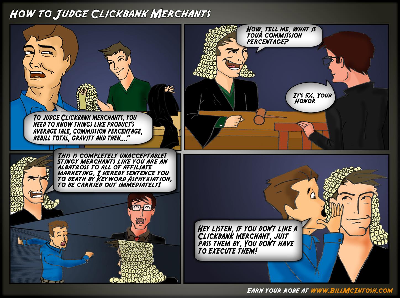 How to Judge Clickbank Merchants