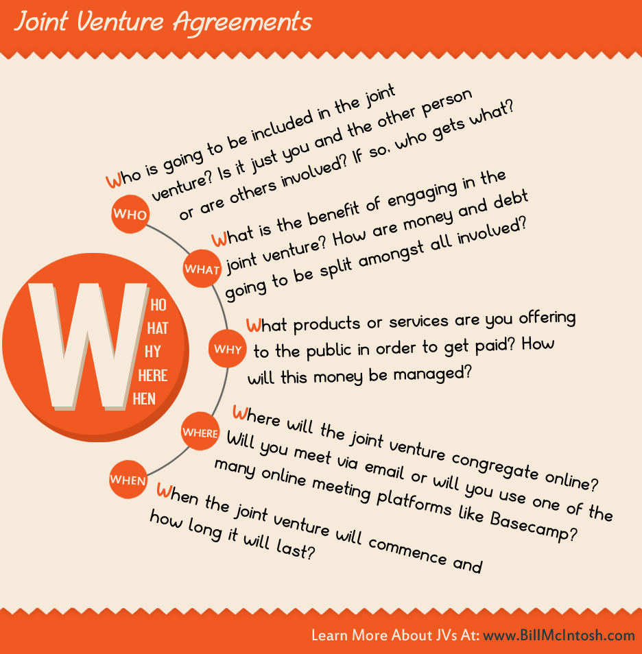Joint Venture Infographic