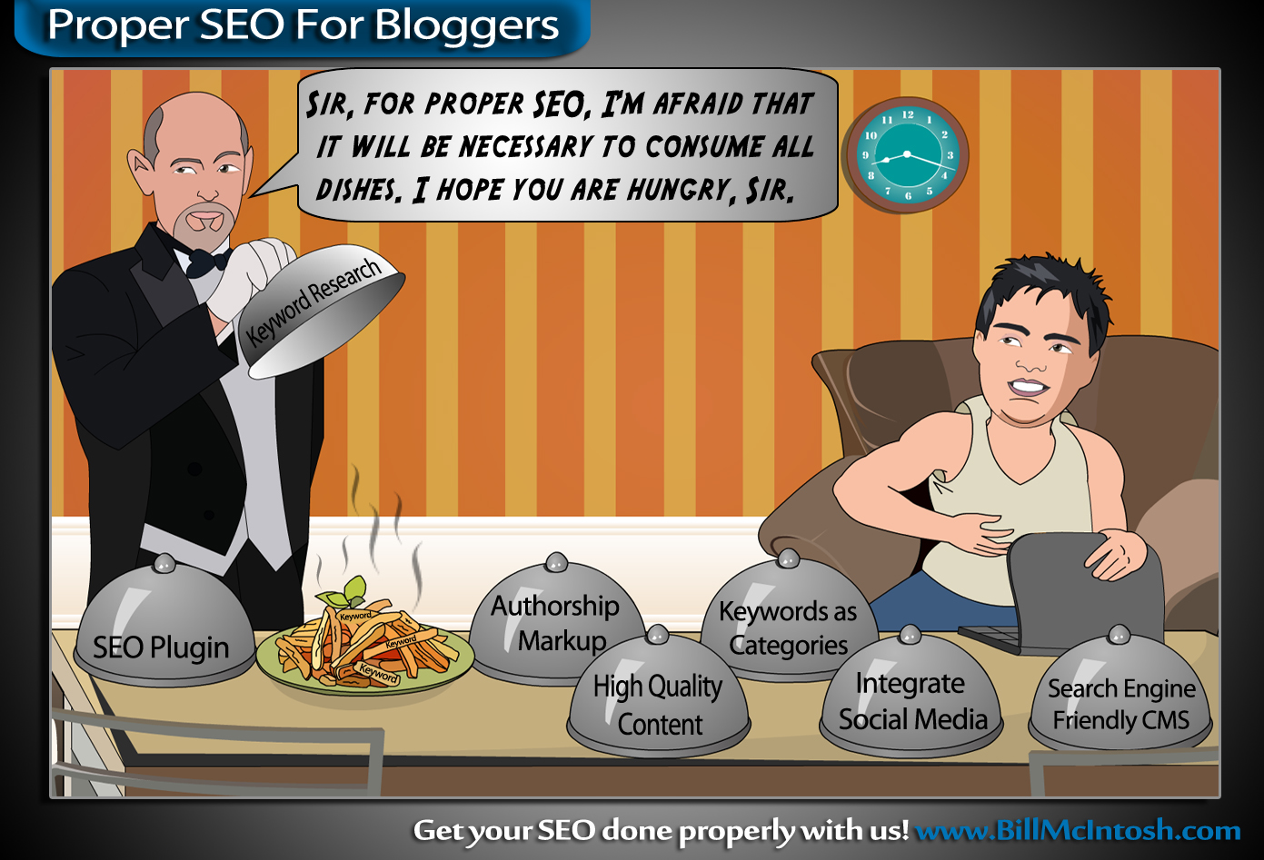 Proper SEO for Bloggers