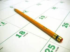 start scheduling your quarterly PSA's
